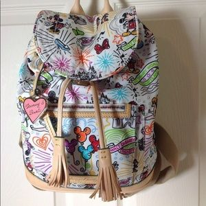 NOT FOR SALE!!  Disney dooney and bourke backpack